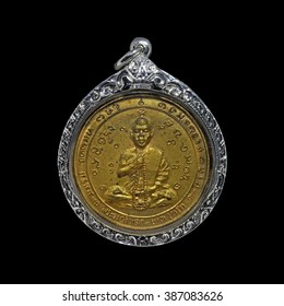 The most famous and the best amulet's from Laos,The great master monk at Laos Issued at Champasak.