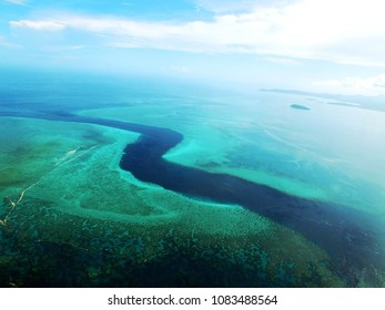 """Most famous diving spot in Mayotte by plane (passe en """"S"""")"""