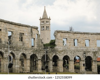 The most famous and important monument in Pula, popularly called the Arena of Pula.