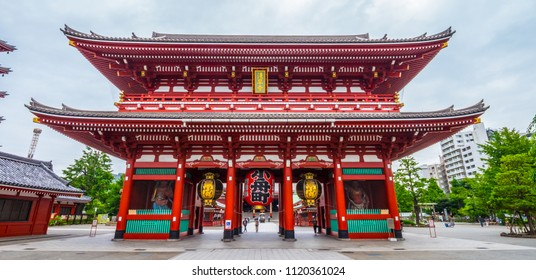 Most famous temple in Tokyo - The Senso-Ji Temple in Asakusa
