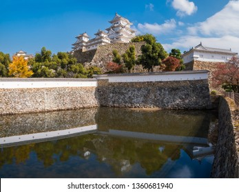 The most famous and visited castle in Japan, Himeji Castle is considered the prototypical Japanese castle, featuring many elements associated with feudal Japanese castle architecture. Autumn view here
