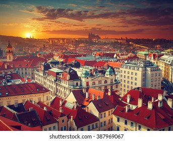 Most mystical and mysterious city in Europe. Prague through the eyes of birds