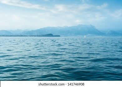 The most popular lake of italy - Lago die Garda�¯�»�¿.