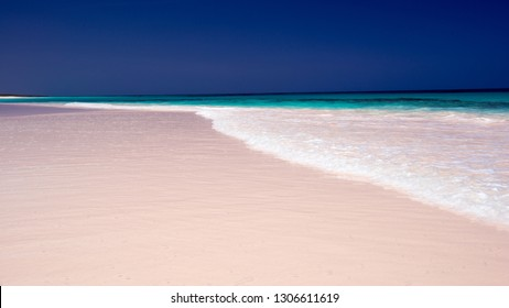 The most scenic and beautiful Pink sand beach of the world, Harbour Island, Bahamas