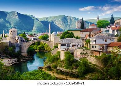 Mostar in Bosnia-Herzegovina