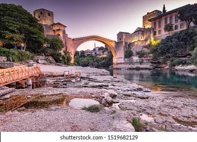 Mostar Bridge am Morgen