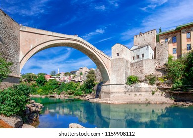 Mostar is a city and the administrative center of Herzegovina-Neretva Canton of the Federation of Bosnia and Herzegovina, an entity of Bosnia and Herzegovina.