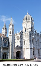 Mosteiro dos Jeronimos of Lisbon in Portugal