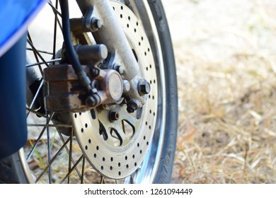 Motercycle wheel and tire