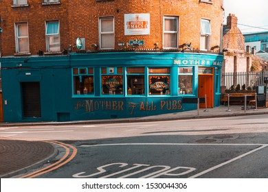The Mother of all Pubs in Limerick, Ireland 2018, spring time of sunny afternoon waiting for customers.