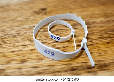 mother and baby id wristband