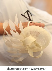 Mother of the bride fascinator hat