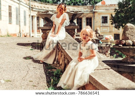 Mother Daughter Bridal Dress