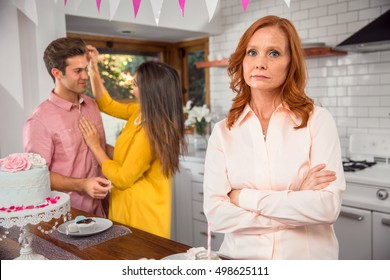 Mother disapproves, envy, and jealous of son's girlfriend. in-law protective parent abandonment