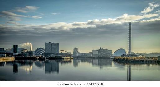 Mother Glasgow Cityscape