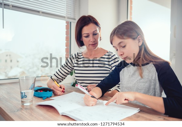 Image result for images of a mother and daughter at a dining table