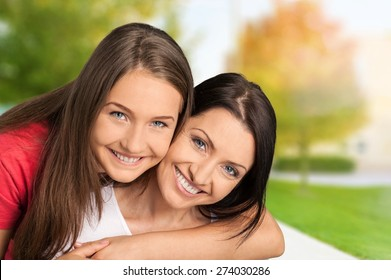 Mother, Teenager, Daughter.