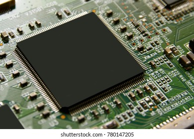 Motherboard background / A motherboard is the main printed circuit board found in general purpose microcomputers and other expandable systems