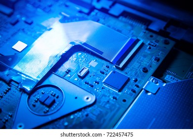 Motherboard, computer and electronics background