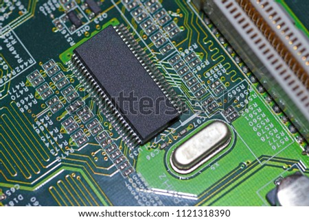 what is found on the motherboard of a computer