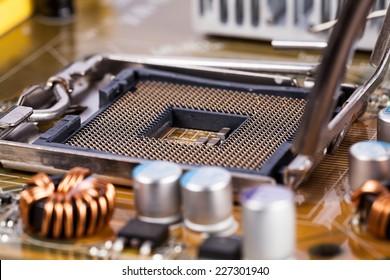 Motherboard processor socket
