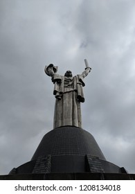 motherland statue in Kiev Ukraine