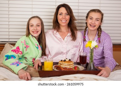 Mother's Day breakfast in bed