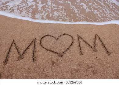 Mothers Day by the beach