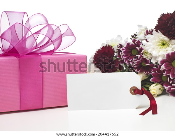 Mothers Day Present and flowers