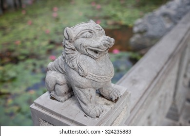 motifs on stone sculpture, in the Buddhist temples in Vietnam
