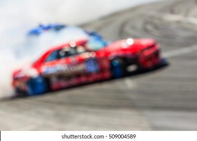 Motion blur car drift, Blur car drift,