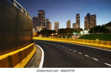 motion blur Street background,night scene