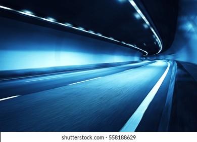 Motion blur tunnel