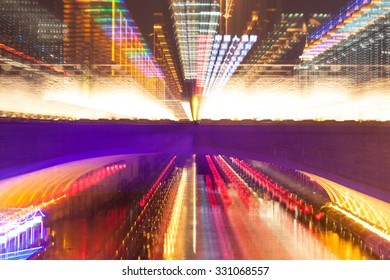 motion light fast movement