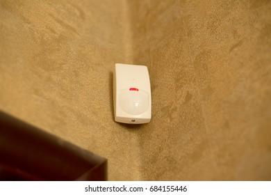 Motion sensor or detector for security system