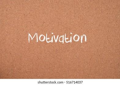 Motivation. Conceptual Images.