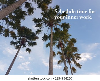 Motivation and inspirational positive  wording