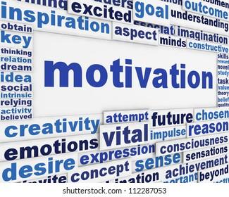 Motivation message background. Inspiration poster conceptual design
