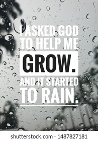 Rain Quotes Stock Photos Images Photography Shutterstock