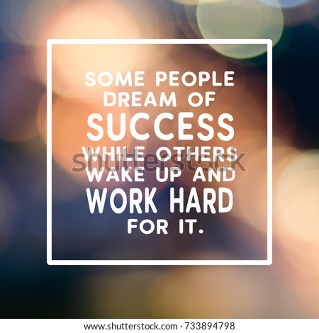 Inspirational Business Quotes | Motivational Inspirational Business Quotes Some People Stockfoto