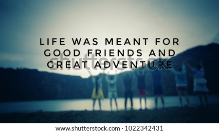 Good Inspirational Quotes | Motivational Inspirational Quotes Life Meant Good Stockfoto Jetzt