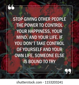 Motivational Quotes About Life Stock Photo Edit Now 1153203439