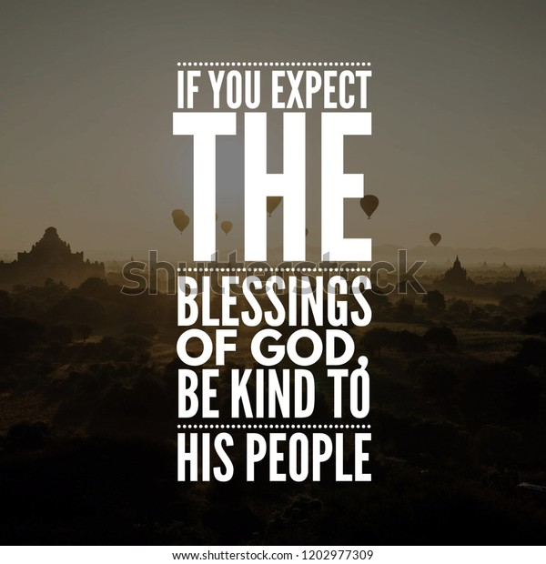 motivational quotes life you expect blessings royalty stock