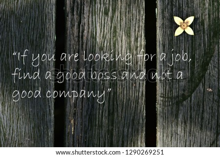 Motivational Quotes You Looking Job Find Stock Photo Edit Now