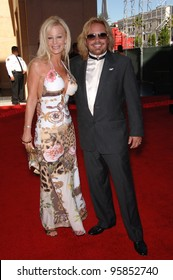 Motley Crue star VINCE NEIL & wife LIA at the 2006 ESPYS Sports Awards at the Kodak Theatre, Hollywood. July 12, 2006  Los Angeles, CA  2006 Paul Smith / Featureflash