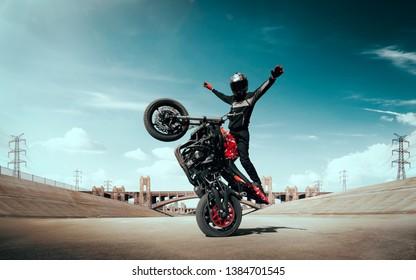 Stunt Images Stock Photos Vectors Shutterstock