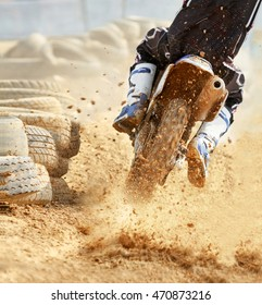 motocross bike increase speed in track