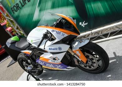 MOTOGP 2019 ITALIA GRAN PREMIO OAKLEY DEL MUGELLO , 31 MAY -1-2  JUN 2019  Moto MotoE Electric Enel