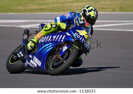 Moto Gp Racing Valentino Rossi Phakisa Racetrack Stock Photo Edit