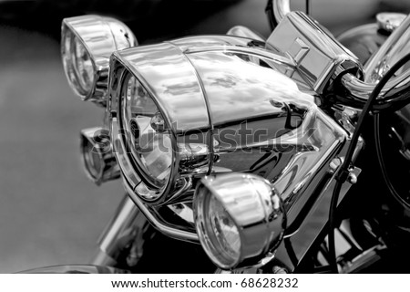 Motor Bike Headlight